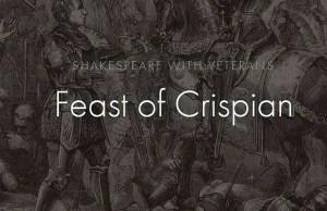 Feast of Crispian Shakespeare Classes for Veterans