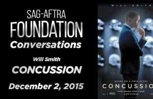 Watch: Conversations with Will Smith on 'Concussion' and the Research That He Did for His Role