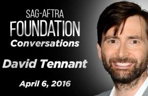 Watch: SAG Conversation with David Tennant