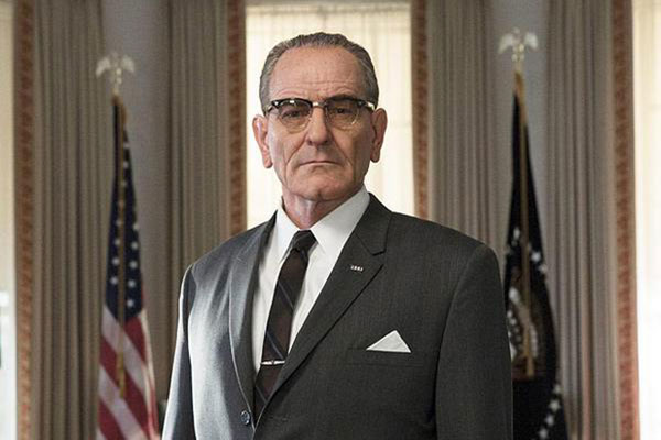 Bryan Cranston in 'all the Way'