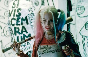 Margot Robbie as Harley Quinn in Suicide Squad