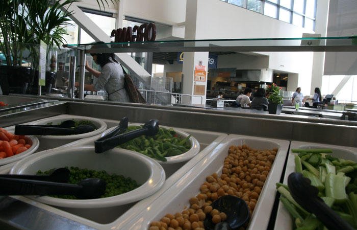 Cal Dining, which operates the Crossroads facility shown above, is among the auxiliary organizations that will be affected by the new regulations.