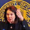 Chair Sherry Lansing and the UC Board of Regents considered plans to address the university's deficit at Thursday's meeting.