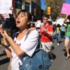 Supporters of the DREAM Act, pictured here in a September 2010 protest promoting the act, are now beginning to see results with Gov. Jerry Brown signing part one of the act, AB 130, into law Monday.