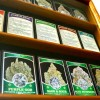 The Berkeley Patients Care Collective has a very large selection of marijuana products available on its shelves.