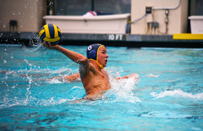 Senior attacker Ivan Rackov scored seven goals in Cal's 21-3 rout of Santa Clara on Saturday. Rackov was the National Player of the Year last season.
