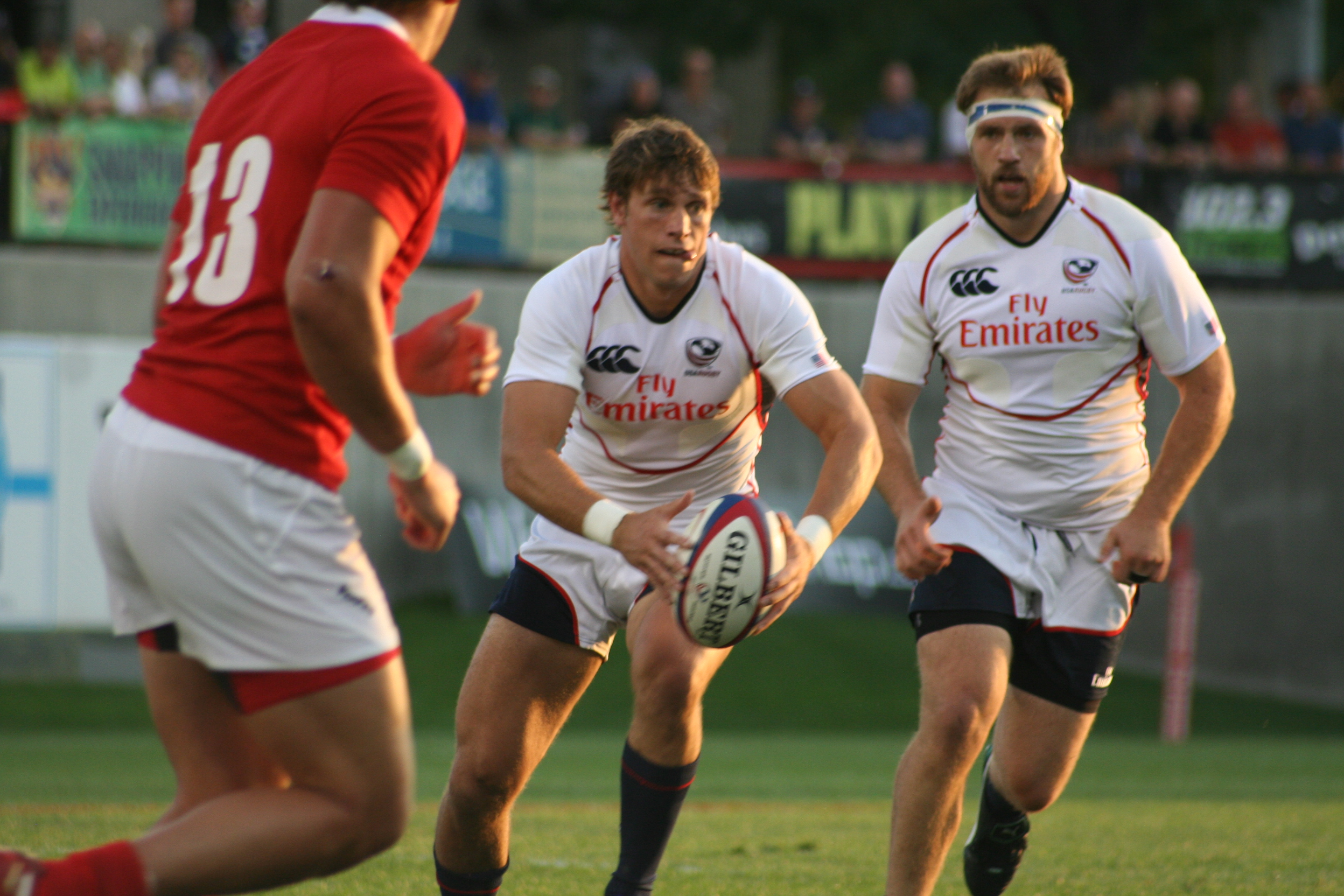 Blaine Scully has earned four international caps in his young career. Scully helped the Cal rugby team win its 26th national title in May.