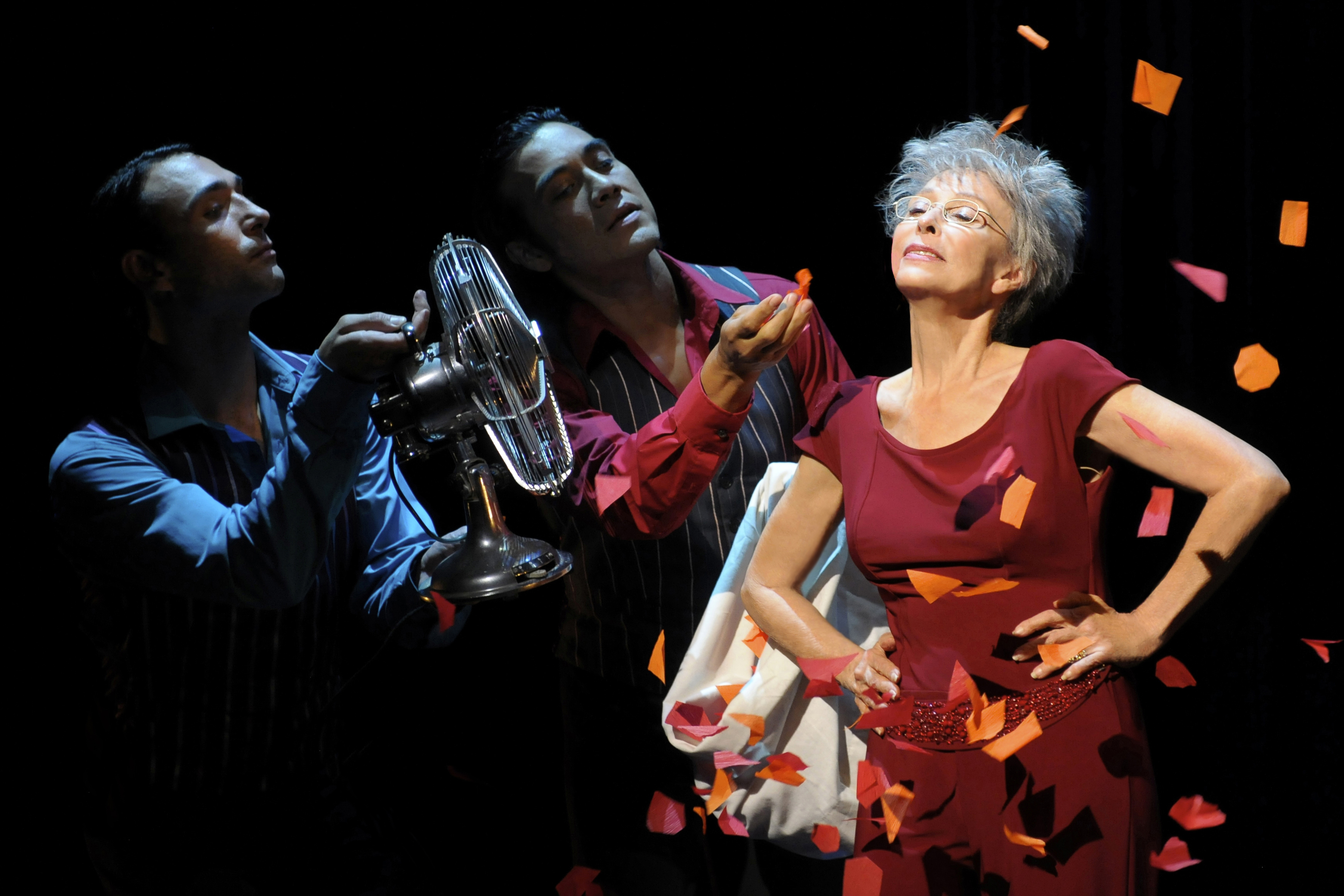 Hollywood legend Rita Moreno relives the highlights of her celebrated career onstage in an autobiographical performace at the Berkeley Repertory Theatre.