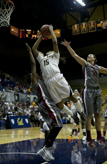 Freshman guard Brittany Boyd tallied nine points, nine rebounds and seven assists.