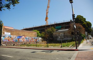 The city of Berkeley filed a lawsuit against Ken Sarachan, the owner of the empty lot on the corner Telegraph Avenue and Haste Street.