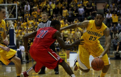 Sophomore guard Allen Crabbe netted 14 points in Cal's win over UCLA on Saturday.