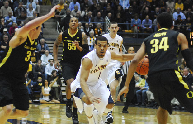 Sophomore point guard Justin Cobbs scored a career-high 28 points to go along with eight assists in the Bears' win.