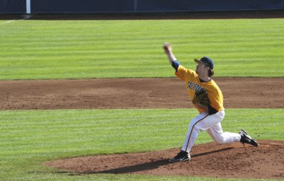 The Cal baseball team suffered a 13-3 loss to Texas Friday evening in the first of three contests between the two teams. Samantha Rosenbaum/Staff