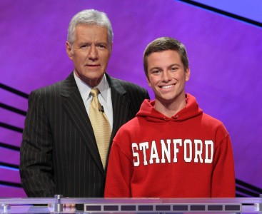 Matt Olson, a Berkeley native, competes on Jeopardy! this week.