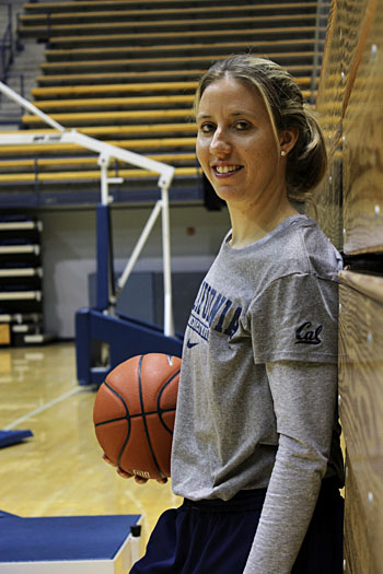 Lindsay Gottlieb, the Cal women's basketball team's first-year head coach, has lofty aspirations for the Bears.