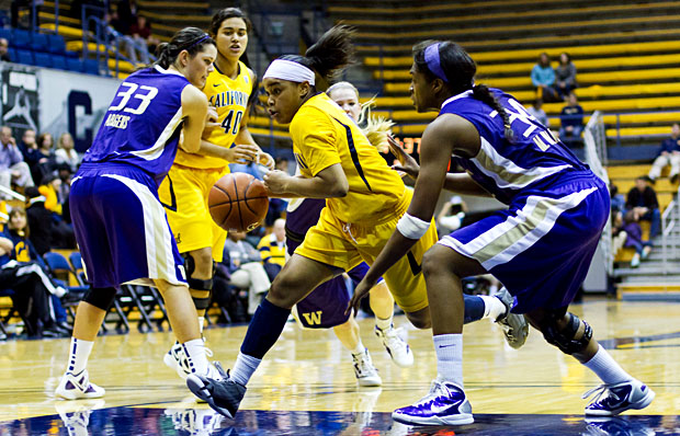 Brittany Boyd was the Pac-12 Player of the Week after tallying 19 points and 10 steals in Saturday's win.