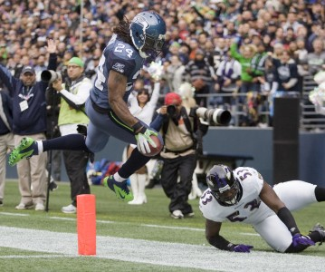 A Sunday matinee with Marshawn Lynch will soon extend past the gridiron to the silver screen.