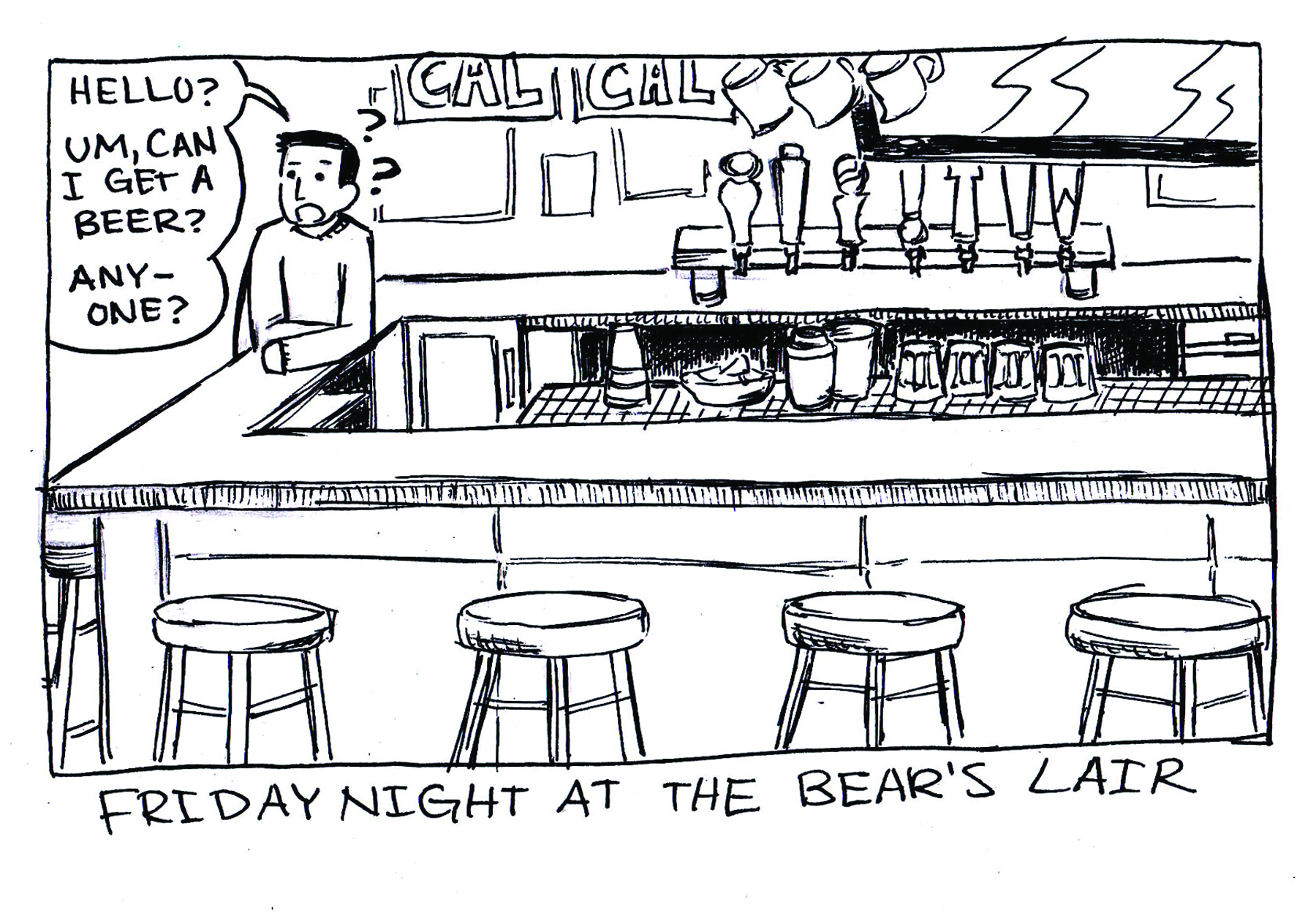 Friday Night at the Bear's Lair