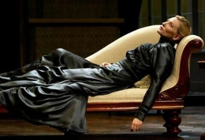 "Cate Blanchett as Hedda Gabler in a 2006 production of  ""Hedda Gabler"""