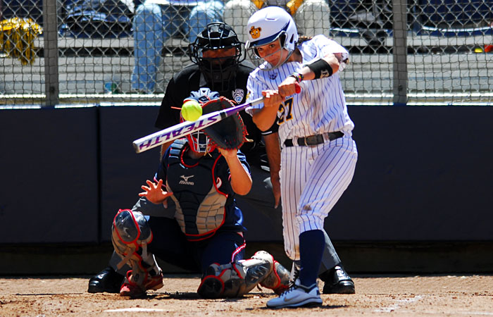The Cal softball team will take on Washington in the first round of the inaugural Berkeley Super Regional competition. Sean Goebel/Staff
