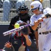 In addition to nearly throwing a no-hitter, Valerie Arioto had two runs and two RBIs.