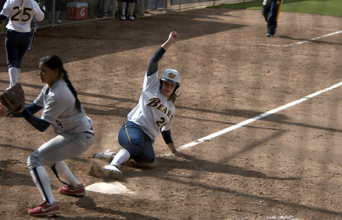 Valerie Arioto made a stronger case for being named national player of the year this weekend, as she hit a walk-off 2-run homer in Thursday's win. The Bears host NCAA regionals starting Friday.