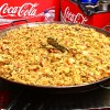 Cauldron of paella