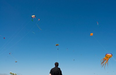 The 27th annual Berkeley Kite Festival took place this weekend at the Berkeley Marina.