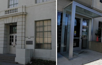 Left: Optometry Library, Right: Public Health Library, both of which need to change according to results from a recent survey.