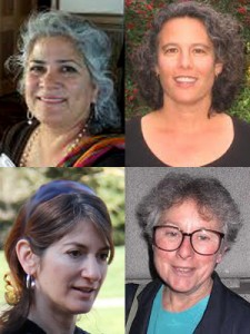 Pictured clockwise from left: Beatriz Leyva-Cutler, Judy Appel, Norma J.F. Harrison, and Tracy Hollander.