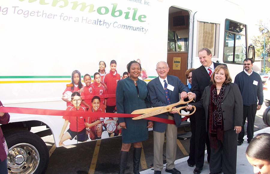 The Breathmobile, a mobile asthma care unit, will begin visiting Malcom X Elementary School in South Berkeley beginning in October.