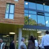 On Saturday, a dedication ceremony was held at Martinez Commons in remembrance of the building's namesake, Maximino Martinez.
