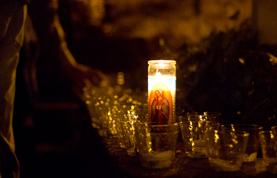 The fraternity ATO hosted a vigil on Wednesday night in remembrance of Cal and ATO alumni J. Christopher Stevens, who was killed in Libya on Tuesday.