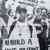 Boalt Hall student Cyrus Guray marches on July 24th, 1995 to protest the UC Board of Regents decision to end affirmative action.