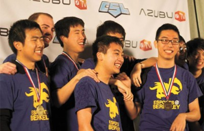 The campus's premier StarCraft eSports players, the UC Berkeley Collegiate StarLeague team, seized the world championship and a $40,000 prize at the AZUBU Collegiate Champions Grand Finals.