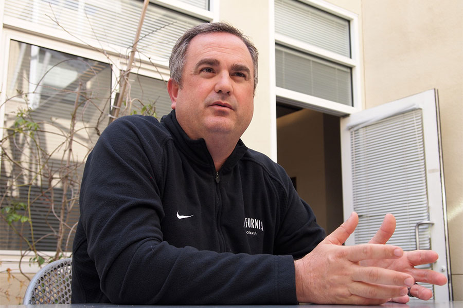 Cal football head coach Sonny Dykes came into the Daily Cal office for an exclusive interview.