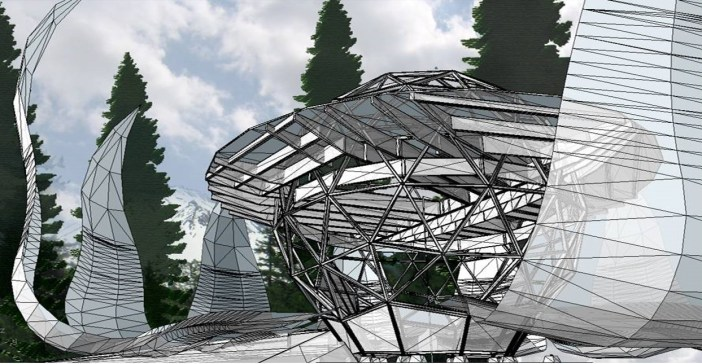 Finished design for the ZED Residence in Mt. Shasta
