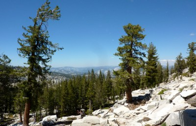 The view from Buena Vista Pass.