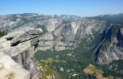 Glacier Point. (Get where the point is?)