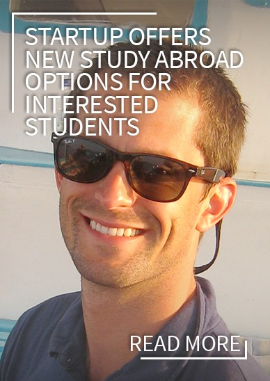 Startup offers new study abroad options for interested students.