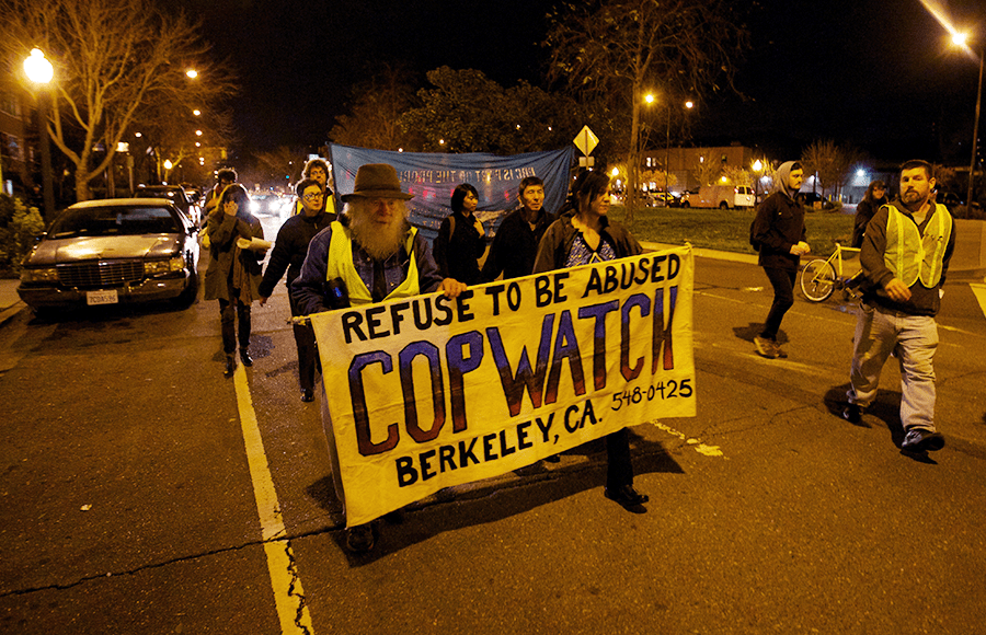 Activists organize in Berkeley a year after Kayla Moore's death in police custody.