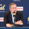 Cal coach Sonny Dykes at the press conference after signing 21 recruits on National Signing Day.