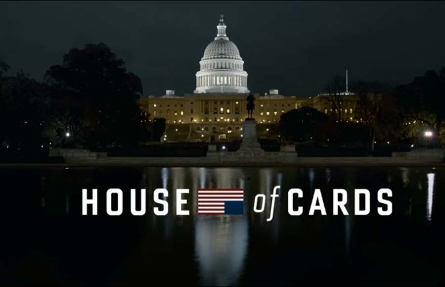 "This Valentine's Day, ""House of Cards,"" Netflix's hit show about the dark, corrupt nature of Washington politics, will be premiering the entirety of its second season at once."