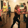 A salsa dance group meets Mondays from 8 to 10 p.m. in International House's Chevron Auditorium. The group's instructor is award-winning dancer Timea Potys of Sizzling Latin.