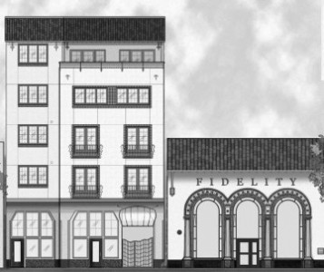 Fidelity Apartments, located near the intersection of Shattuck and Bancroft, will be one of many new housing developments in Downtown Berkeley.