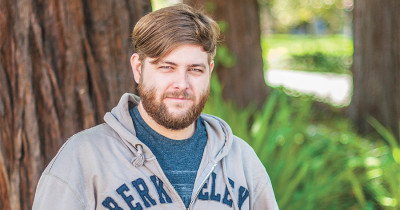 Tom Wiltshire, a U.S. Marine Corps veteran who served in Iraq, is a student at UC Berkeley. After returning from duty, Wiltshire used the GI Bill to cover his educational costs and living expenses.