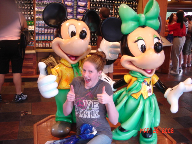 Before making her first trip to the Olympic trials, Franklin, then-12, traveled to Disney World with her mom and dad.