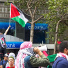 Community members, including some UC Berkeley students, rallied in San Francisco over the weekend in support of Gaza.