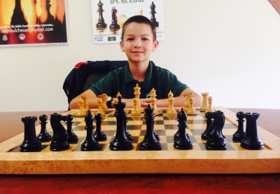 Josiah Stearman, 11, recently became a National Master in chess.