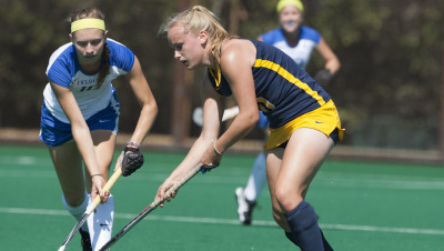 1 September 2014: CAL Field Hockey vs Delaware at Stanford University.